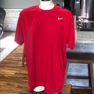 Men's Nike red t-shirt